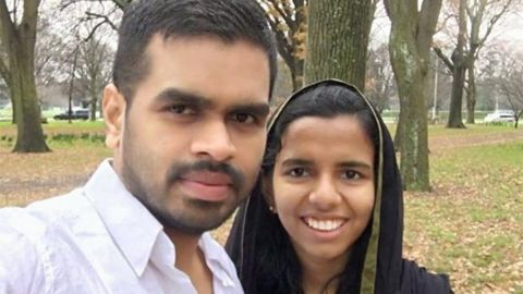 Friends say Nazer and Alibava, who were married in 2017, were very much in love.