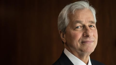 Jamie Dimon poses for a portrait on Wednesday, March 18, 2019.