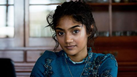 Prosper High School student Neha Madhira at home where she does her homework, in Prosper, Tex., on June 28, 2018.  Madhira worked as the editor-in-chief of the school's newspaper and wrote an opinion piece about how the Texas school handled National School Walkout. The piece was censored by the school's principal.  (Allison V. Smith/The New York Times)
