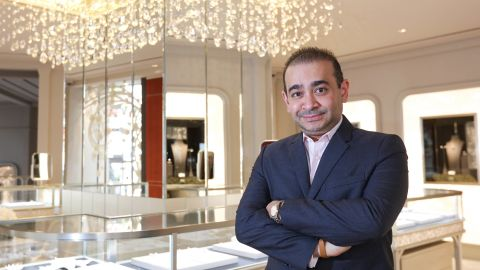 Forbes once ranked Nirav Modi as India's 85th richest man, with a net worth of $1.8 billion.
