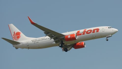 A Lion Air 737 Max 8 aircraft crashed in October last year shortly after taking off from Jakarta, killing all 189 people on board.