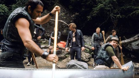 """<strong>""""Deliverance""""</strong>: This now iconic film follows a group of men who take a canoe trip in the northern Georgia wilderness. <strong>(Netflix) </strong>"""
