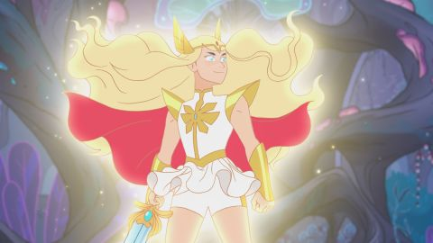 """<strong>""""She-Ra and the Princesses of Power"""" Season 2</strong> :  Soldier Adora finds a magic sword -- and her identity as legendary hero She-Ra and joins the Rebellion in this animated series.<strong> (Netflix) </strong>"""