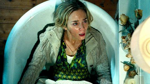 """<strong>""""A Quiet Place""""</strong>: John Krasinski co-wrote, directed and starred in this horror film along with his wife, Emily Blunt, about a family trying to survive a group of monsters with acute hearing. <strong>(Hulu, Amazon Prime) </strong>"""