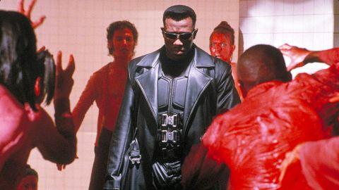 """<strong>""""Blade""""</strong>: Wesley Snipes stars as a half-vampire, half-mortal man who becomes a protector of the mortal race. <strong>(Amazon Prime) </strong>"""