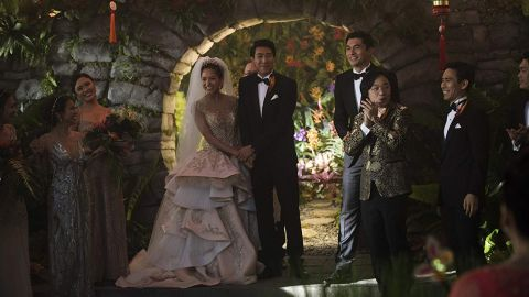 """<strong>""""Crazy Rich Asians"""":</strong> This history-making film marked the first major studio movie since """"The Joy Luck Club"""" 25 years ago to feature a predominately Asian cast. The rom-con centers around a professor who falls in love with a member of an extremely wealthy family. <strong>(HBO Now) </strong>"""