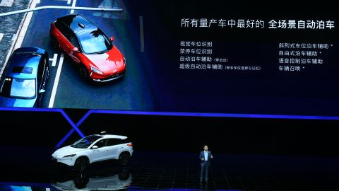 Xiaopeng started selling its electric SUV, the Xpeng G3, in December.