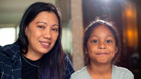 Vanessa Rodel and her daughter, Keana.