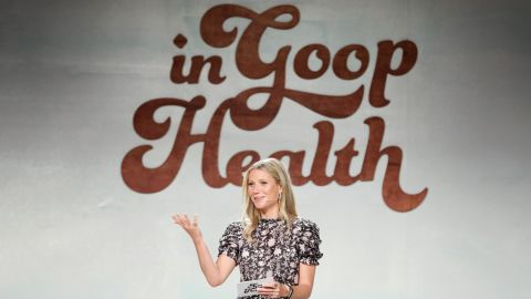 CULVER CITY, CA - JUNE 09:  Gwyneth Paltrow speaks onstage at the In goop Health Summit at 3Labs on June 9, 2018 in Culver City, California.  (Photo by Neilson Barnard/Getty Images for goop)