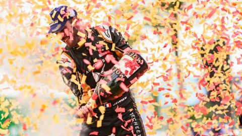 Jean-Eric Vergne put an end to a miserable run of form that saw him go pointless for three straight races by taking victory in Sanya, the first time the championship had visited the south China city