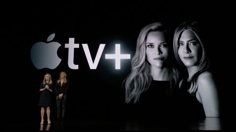 Jennifer Aniston and Reese Witherspoon will star in a new Apple series