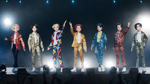 Mattel recently broke the internet when they released a line of BTS dolls.