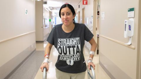 Nina Martinez donated a kidney in a historic surgery that was performed Monday.   Photo courtesy of Sarah Marie Mayo