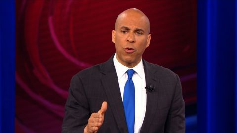 cory booker town hall