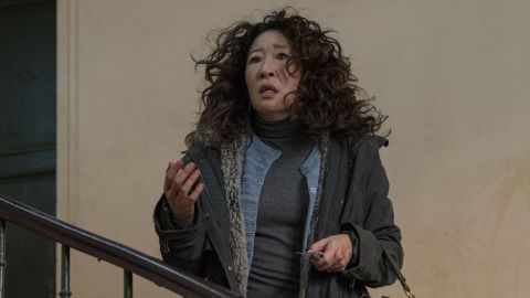 Sandra Oh in 'Killing Eve.' (Aimee Spinks/BBCAmerica)