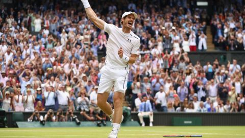 Andy Murray won the Wimbledon title twice, becoming Great Britain's first champion at the All England Club in 77 years in 2013, before securing a second crown against Milos Raonic in 2016.