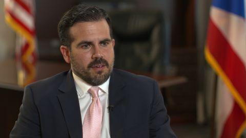 Puerto Rico Gov. Ricardo Roselló says he will not resign.