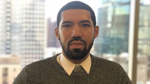 Rashad James, an attorney with Maryland Legal Aid's Community Lawyering Initiative.