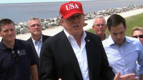Trump on border