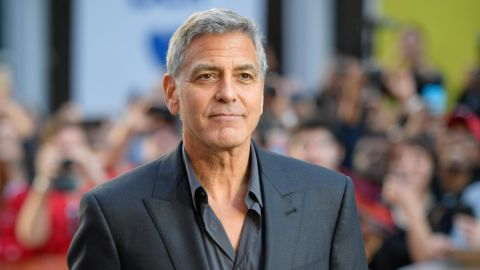 """George Clooney attends the premiere of """"Suburbicon"""" during the 2017 Toronto International Film Festival on September 9, 2017."""