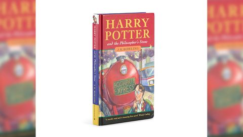 """""""Harry Potter and the Philosopher's Stone"""" is the first of seven novels in the series."""