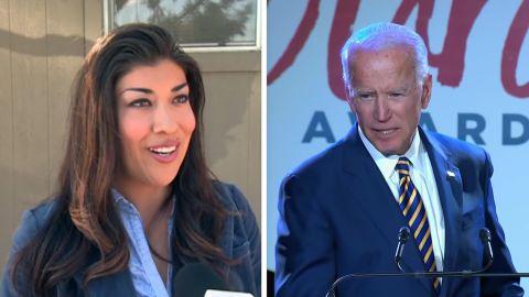 Lucy Flores accuses Former VP Joe Biden