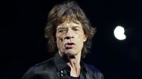 SYDNEY, AUSTRALIA - NOVEMBER 12:  Mick Jagger of The Rolling Stones performs live at Allphones Arena on November 12, 2014 in Sydney, Australia.  (Photo by Mark Metcalfe/Getty Images)
