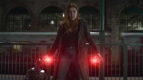 Elizabeth Olsen as Scarlet Witch in 'Avengers: Infinity War' (Photo: Film Frame..©Marvel Studios 2018)