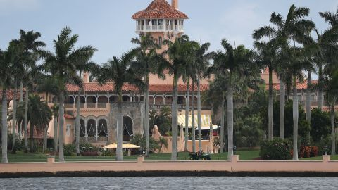 WEST PALM BEACH, FLORIDA - APRIL 03: President Donald Trump's Mar-a-Lago resort is seen on April 03, 2019 in West Palm Beach, Florida. Reports indicate that at over the past weekend a woman from China was arrested and found to be carrying four cellphones and a thumb drive infected with malware after she made her way into the resort during President Trump's visit.(Photo by Joe Raedle/Getty Images)