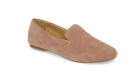 """<strong>The Starling Slipper, Latte Suede ($120; </strong><a href=""""https://click.linksynergy.com/deeplink?id=Fr/49/7rhGg&mid=1237&u1=0405birdies&murl=https%3A%2F%2Fshop.nordstrom.com%2Fs%2Fbirdies-starling-slipper-women%2F5223598%3Forigin%3Dcategory-personalizedsort%26breadcrumb%3DHome%252FWomen%252FShoes%252FSlippers%26color%3Dlatte%2520suede"""" target=""""_blank"""" target=""""_blank""""><strong>nordstrom.com</strong></a><strong>) </strong>"""