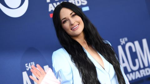 Kacey Musgraves arrives for the 54th Academy of Country Music Awards