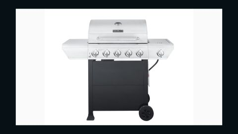 """<strong>Nexgrill 5-Burner Propane Gas Grill with Side Burner ($159, originally $199; </strong><a href=""""https://www.homedepot.com/p/Nexgrill-5-Burner-Propane-Gas-Grill-in-Stainless-Steel-with-Side-Burner-and-Black-Cabinet-720-0888N/300025261"""" target=""""_blank"""" target=""""_blank""""><strong>homedepot.com</strong></a><strong>)</strong>"""