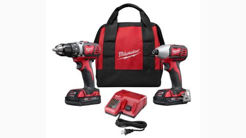 """<strong>Milwaukee M18 18-Volt Lithium-Ion Cordless Drill Driver and Impact Driver Combo Kit ($159, originally $179; </strong><a href=""""https://www.homedepot.com/p/Milwaukee-M18-18-Volt-Lithium-Ion-Cordless-Drill-Driver-Impact-Driver-Combo-Kit-2-Tool-w-2-1-5Ah-Batteries-Charger-Tool-Bag-2691-22/100650378"""" target=""""_blank"""" target=""""_blank""""><strong>homedepot.com</strong></a><strong>)</strong>"""