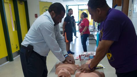 Immediate CPR can drastically increase the survival rate of someone who is experiencing cardiac arrest.