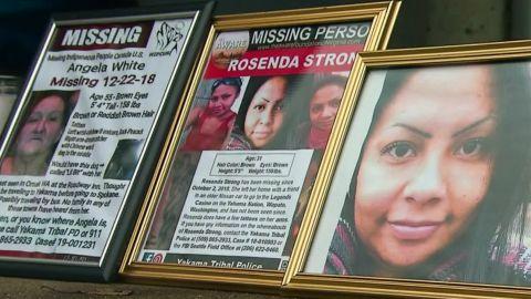 native american women missing