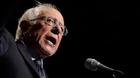 US Sen. Bernie Sanders speaks at a campaign rally in Chicago in March 2019. Sanders, an independent from Vermont, is the longest-serving independent in the history of Congress.