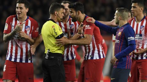 Costa's ban rules him out of the remainder of Atletico's league games this season.