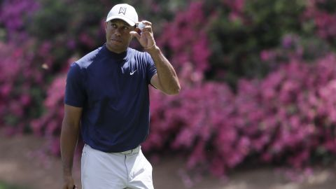 The 43-year-old won the last of his 14 majors in 2008 and is on the comeback from long-term back injury.