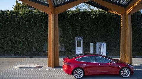 Tesla endured a tough 2018 after months of manufacturing hangups and delays in rolling out its best-selling Model 3.