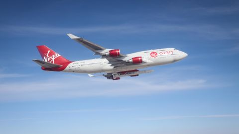 Virgin Orbit plans to use a customized Boeing 747-400 to compete with Stratolaunch.