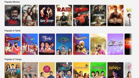Hotstar has content in eight Indian languages.