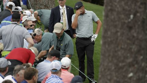 The other first round co-leader Bryson DeChambeau went backwards Friday.