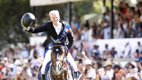 <strong>Mexico City:</strong> Jerome Guery  and Quel Homme de Hus celebrated their first LGCT victory in Mexico.