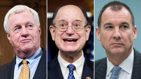 US Reps. Collin Peterson, Brad Sherman and Tom Suozzi are all trained as certified public accountants.