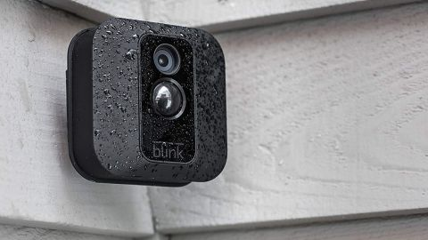 """<a href=""""https://amzn.to/2XdHshO"""" target=""""_blank"""" target=""""_blank""""><strong>Blink XT Home Security 2-Camera Kit ($139.99, originally $229.99; amazon.com)</strong></a>"""
