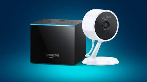 """<a href=""""https://amzn.to/2Pf1OVi"""" target=""""_blank"""" target=""""_blank""""><strong>Fire TV Cube with Amazon Cloud Cam ($199.98, originally $239.98; amazon.com)</strong></a>"""