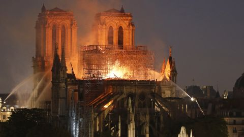 After the roof of Notre Dame Cathedral melted in a fire last month, high levels of lead are present around the building.