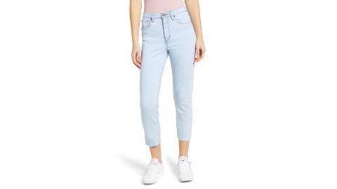 "<strong>BP. Mom Jeans ($29.49, originally $59; </strong><a href=""https://click.linksynergy.com/deeplink?id=Fr/49/7rhGg&mid=1237&u1=0416nordspringsale&murl=https%3A%2F%2Fshop.nordstrom.com%2Fs%2Fbp-mom-jeans%2F5128916%3Forigin%3Dcategory-personalizedsort%26breadcrumb%3DHome%252FSale%252FWomen%26color%3Dlight%2520wash"" target=""_blank"" target=""_blank""><strong>nordstrom.com</strong></a><strong>) </strong>"