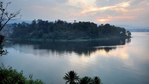 Democratic Republic of Congo, Kivu Lake. (Photo by: Hermes Images/AGF/UIG via Getty Images)
