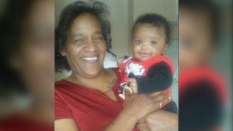 Ja'Ceon and his aunt, Dannie Hawkins.